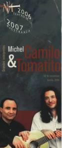 Concierto de Michel Camilo y Tomatito en el Maestranza de Sevilla